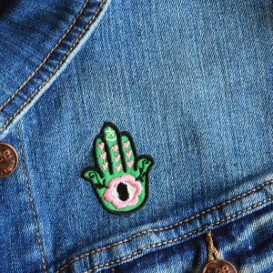 Green Magic Woman Patch
