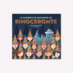 10 Maneras de esconder un RINOCERONTE