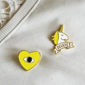 Amor Amarillo + Believe Pin Vintage Pack