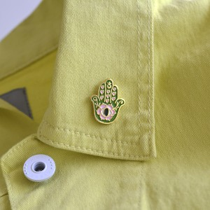 Rainbow + Green Magic Vintage Badge