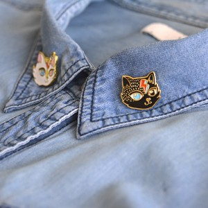 Gatitos Vintage Badge Pack