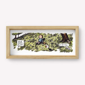 Enriqueta Sleeping Wall Art