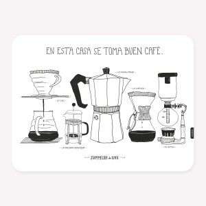 Cafeteras Placemat