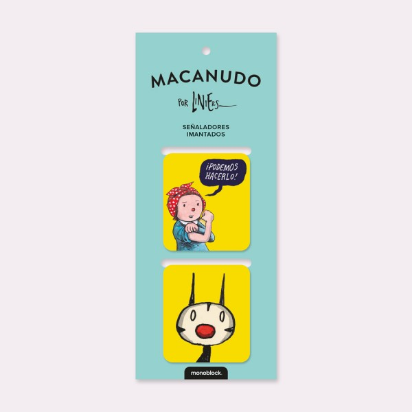 Podemos Hacerlo Magnetic Bookmarkers