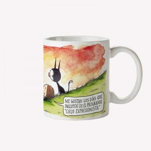 Expressionist sky Mug