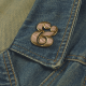 Broche Ampersand Rosa