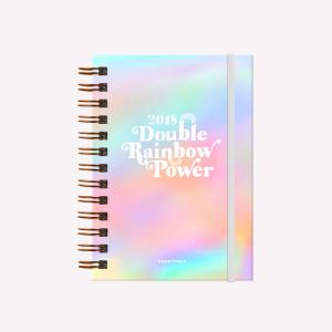 Agenda 2018 Happimess Pocket Double Rainbow Power
