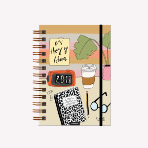 Agenda 2018 Pepita Sandwich Pocket Es Hoy y Ahora