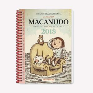 MACANUDO 2018 AGENDA ANILLADA – ENRIQUETA