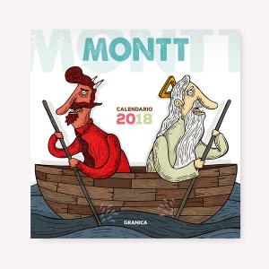 Montt 2018 calendario de pared