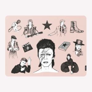 Bowie Colors Placemat