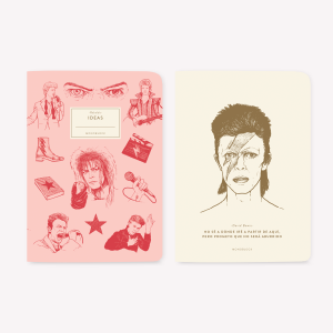 David Bowie Pocket Notebook Set x2