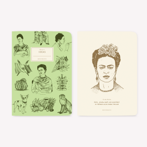 Libretas Frida Kahlo x2