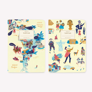 America Pocket Notebook Set x2