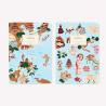 Asia Pocket Notebook Set x2