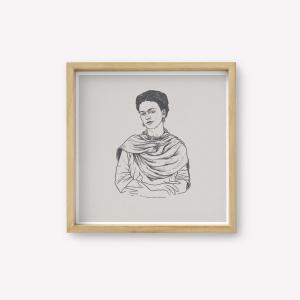 Serigrafia Frida Retrato