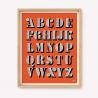 Alphabet Silk-screen