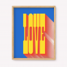Love  Silk-screen