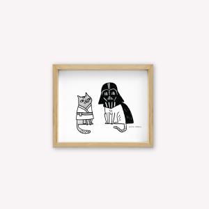 Wall Art Darth Vader
