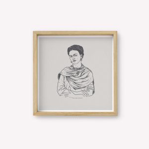 Wall Art Frida Retrato