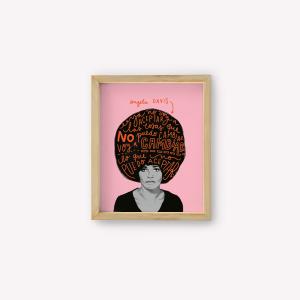 Wall Art Angela Davis