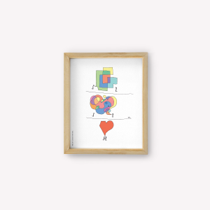 Complementary Love Wall Art
