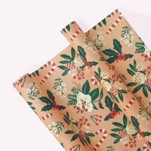 Pack x3 Papel Decorativo Navidad Durazno