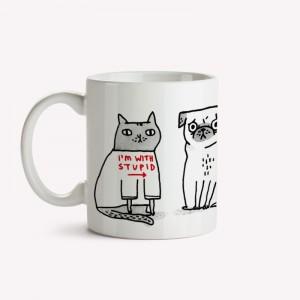 I'm with stupid Mug