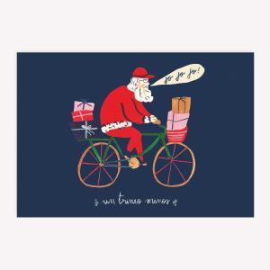 Tarjeta Santa en Bici