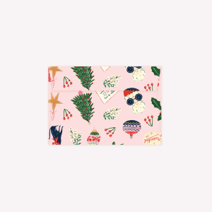 Kit x 5 Sobres Navidad Rosa