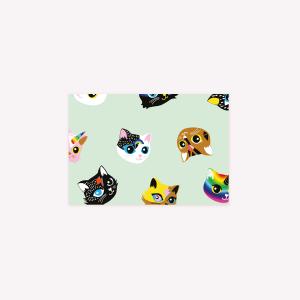 Kittens Envelopes x5