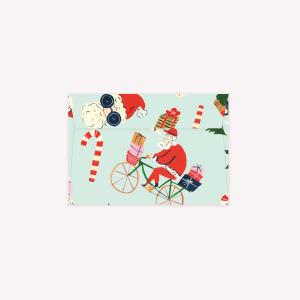 Kit x 5 Sobres Navidad Celeste