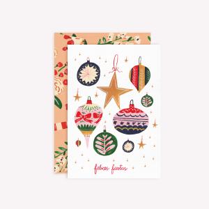 Tarjeta Felices Fiestas
