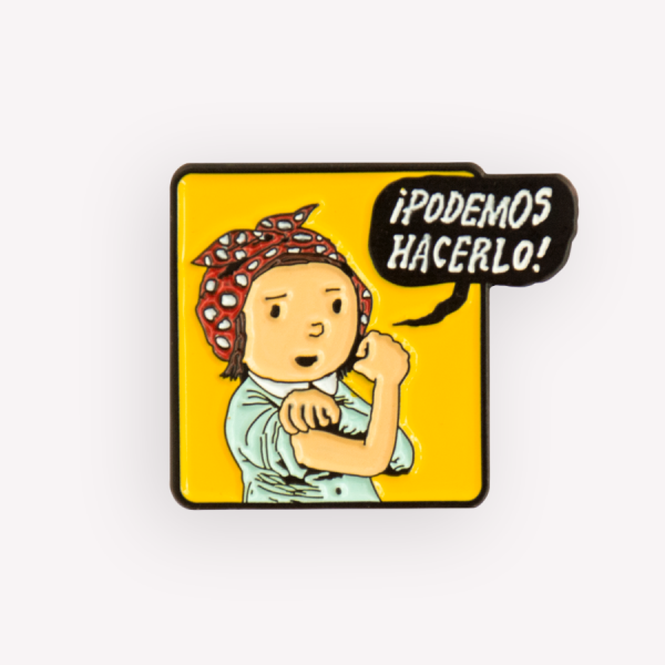 Podemos Hacerlo Vintage Badge