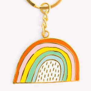 Rainy Rainbow Keychain