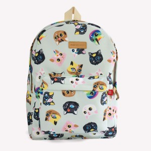 Gatitos Celeste Bold Backpack
