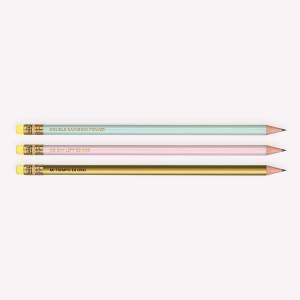 Pencil Set x3 Happimess
