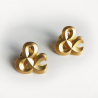 Broche Ampersand Twin Pins