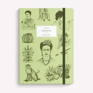 Cuaderno Cosido Mediano Frida