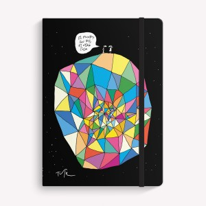 Cuaderno Cosido Mediano Tute El Mundo Con Vos