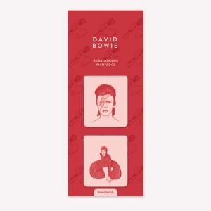 Señaladores Imantados David Bowie