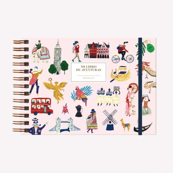 Cuaderno Apaisado Mi libro de aventura