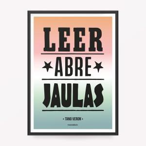 Poster Leer Abre Jaulas
