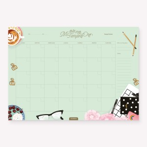 Planner Mensual Mi tiempo es Oro Happimess
