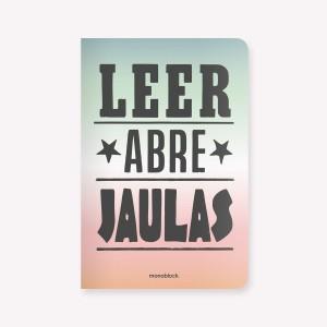 Libreta Leer Abre Jaulas