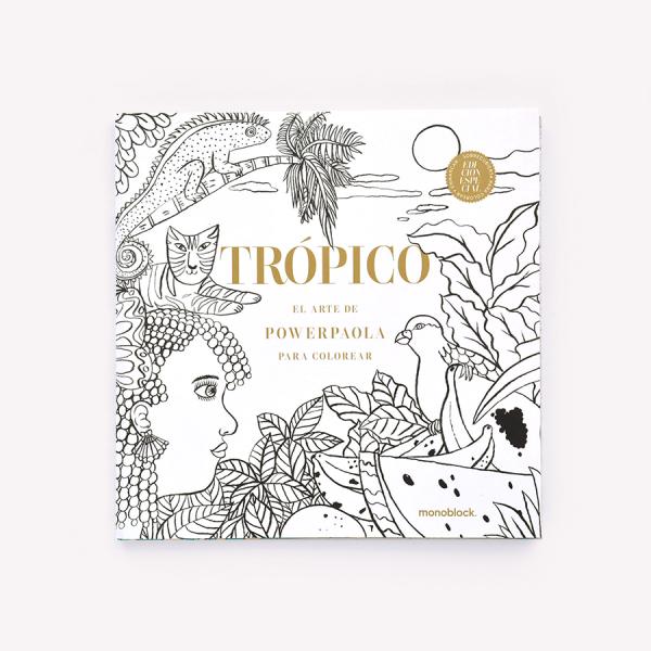 Trópico para colorear Edición Especial - Monoblock