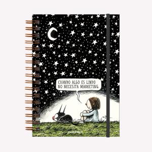 Noche Estrellada Hardcover Notebook