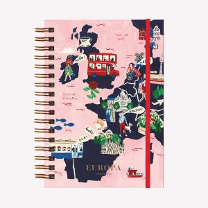 Cuaderno Tapa Dura Europa
