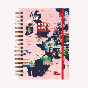 Europe Hardcover Notebook