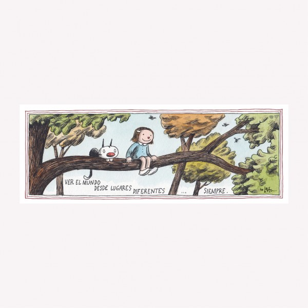 Enriqueta Butterfly Magnetic Comic